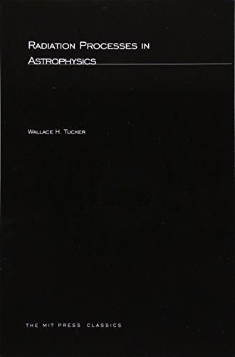 9780262700108: Radiation Processes In Astrophysics (MIT Press)