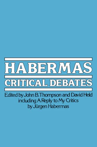 9780262700238: Habermas: Critical Debates (MIT Press)