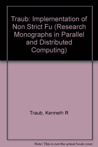 9780262700429: Implementation of Non-Strict Functional Programming Languages