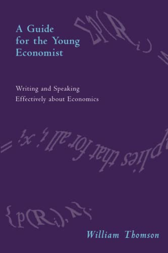 9780262700795: A Guide for the Young Economist