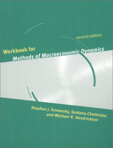 9780262700818: Workbook for Methods of Macroeconomic Dynamics - 2nd Edition