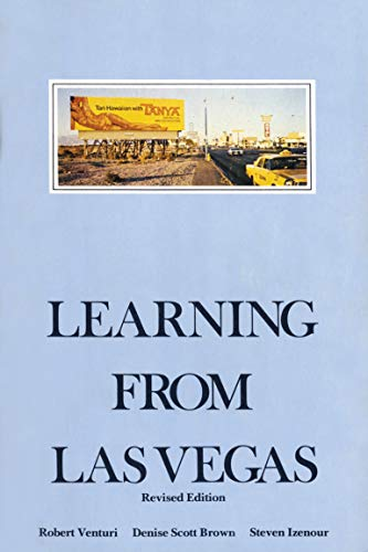 9780262720069: Learning from Las Vegas: The Forgotten Symbolism of Architectural Form