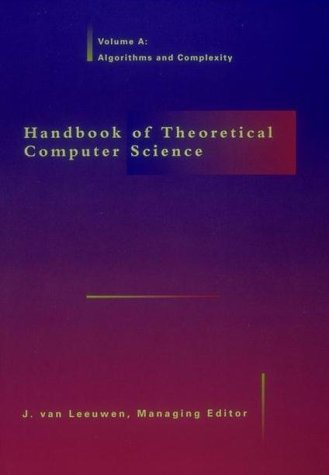 9780262720205: Handbook of Theoretical Computer Science - 2 Vol Set
