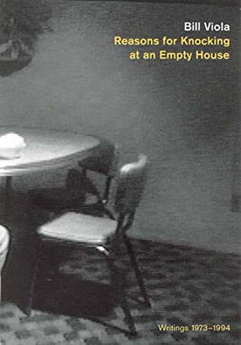 9780262720250: Reasons for Knocking at an Empty House: Writings 1973-1994