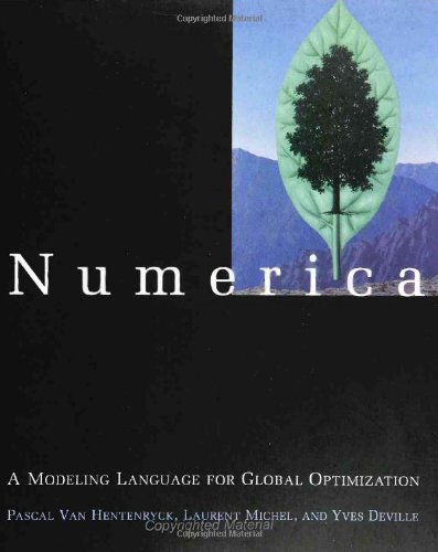 Numerica: A Modeling Language for Global Optimization.: Hentenryck, Pascal van Van