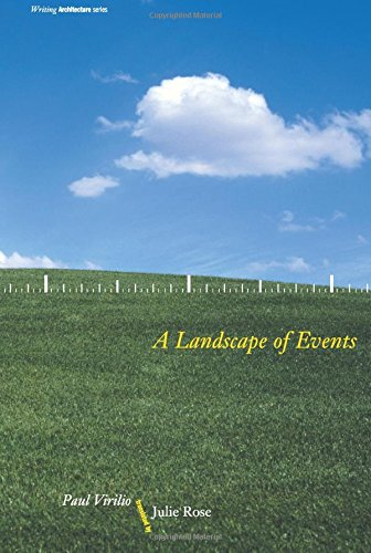 9780262720342: A Landscape of Events (Writing Architecture)