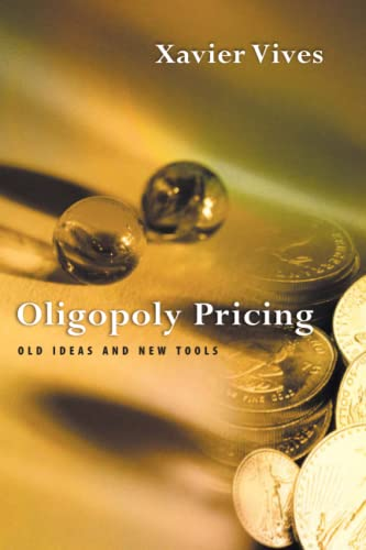 9780262720403: Oligopoly Pricing: Old Ideas and New Tools
