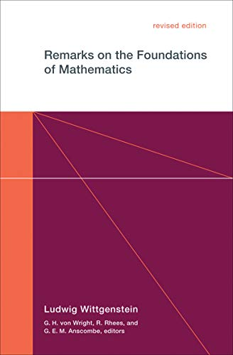9780262730679: Remarks on the Foundations of Mathematics (MIT Press)