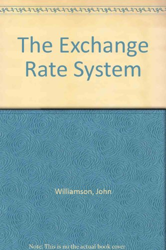 9780262730716: The Exchange Rate System