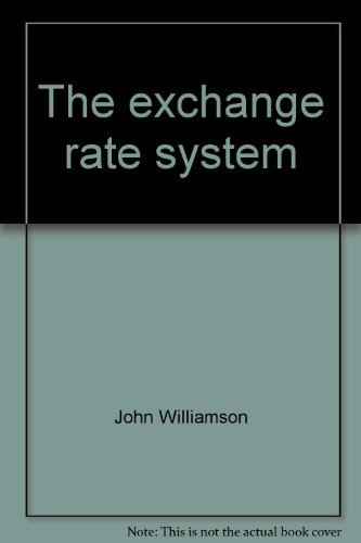 9780262730754: The exchange rate system (Policy analyses in international economics)