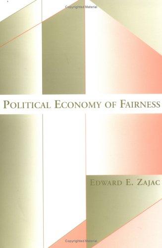 9780262740197: Political Economy of Fairness (MIT Press)
