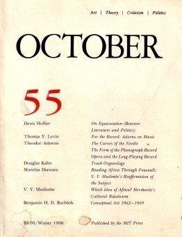 9780262752053: OCTOBER 55: ART/ THEORY/ CRITICISM/ POLITICS - WINTER 1990