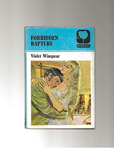 9780263054484: Forbidden Rapture