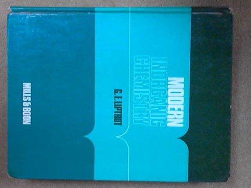 Modern Inorganic Chemistry (Modern chemistry): Liptrot, G.F.
