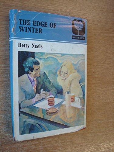 9780263090130: The Edge of Winter
