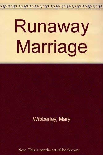 9780263094954: Runaway Marriage