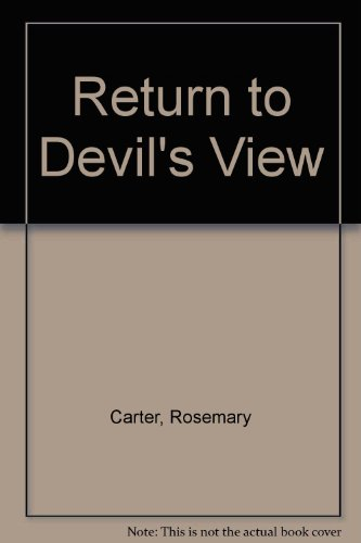 9780263095197: Return to Devil's View