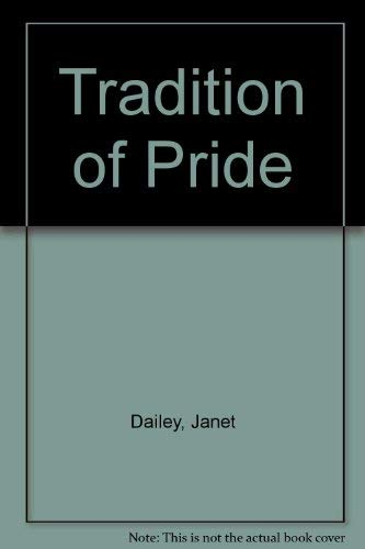 9780263101270: Tradition of Pride