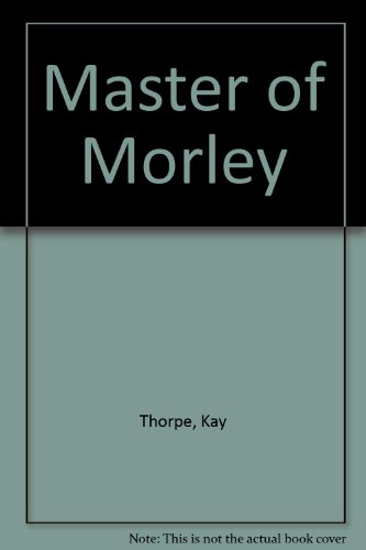 9780263102239: Master of Morley