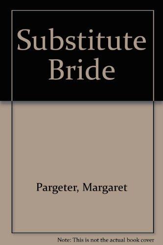 9780263104080: Substitute Bride