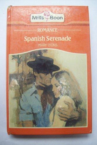 9780263105056: Spanish serenade