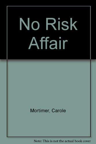 9780263107647: No Risk Affair