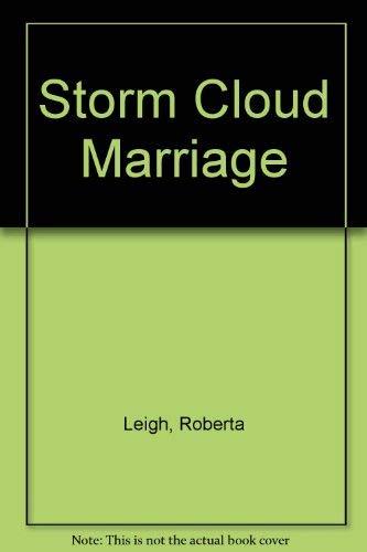 9780263115536: Storm Cloud Marriage