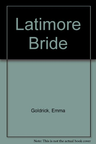 9780263117493: Latimore Bride