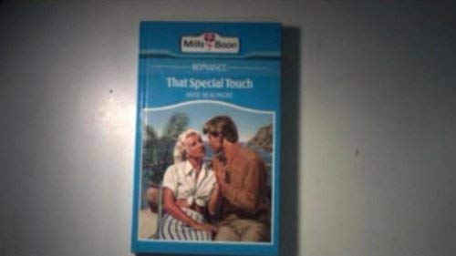 9780263119916: That Special Touch
