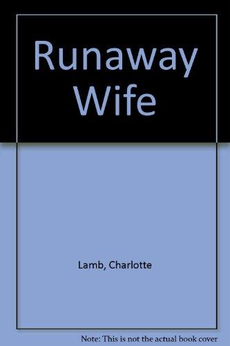 9780263122220: Runaway Wife