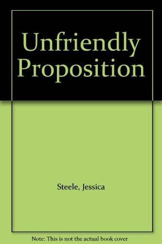 9780263122329: Unfriendly Proposition