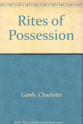 9780263122824: Rites of Possession
