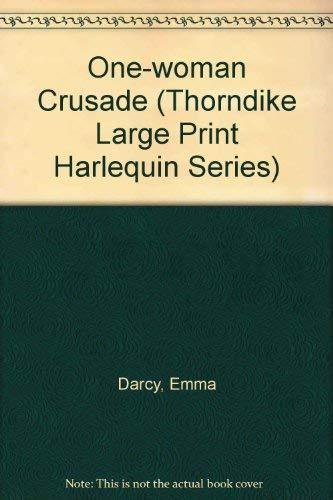 9780263124279: One-Woman Crusade