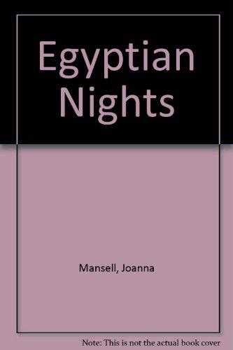 9780263124309: Egyptian Nights
