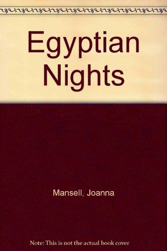 9780263124422: Egyptian Nights