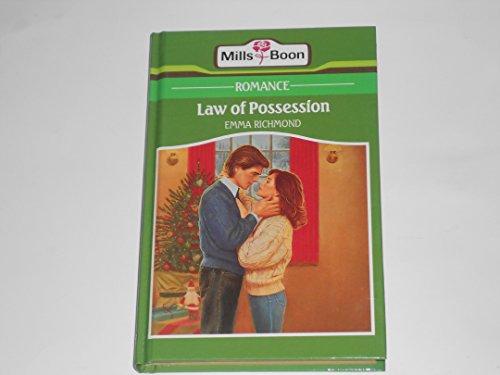 9780263125504: Law Of Possession (Romance)