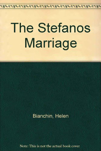 9780263126181: The Stefanos Marriage
