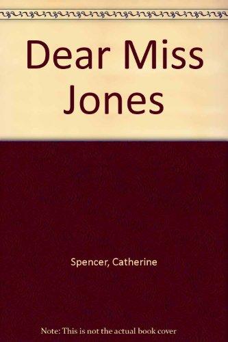 9780263130065: Dear Miss Jones