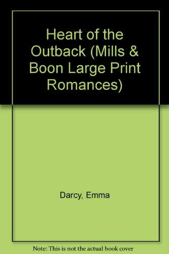 9780263138702: Heart of the Outback (Mills & Boon Large Print Romances)