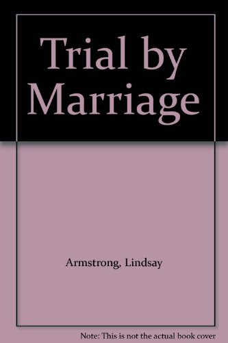 9780263141337: Trial by Marriage