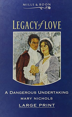 9780263144260: A Dangerous Undertaking (Mills & Boon Large Print Romances)