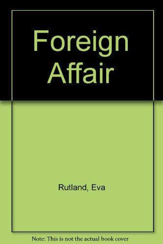 9780263144437: Foreign Affair