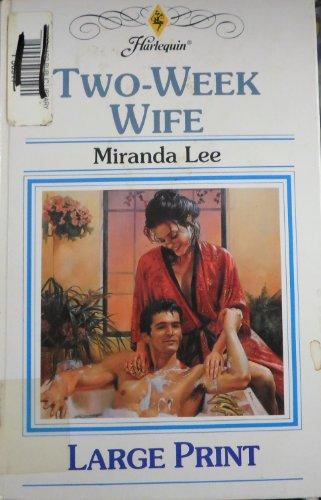 9780263152937: Two-Week Wife
