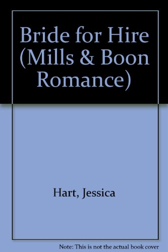 9780263153088: Bride for Hire (Mills & Boon Romance)