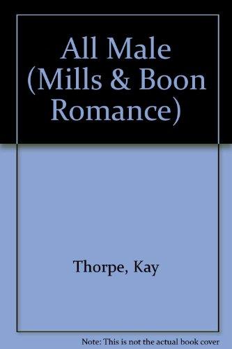 9780263155129: All Male (Romance)