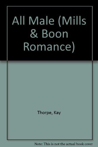 9780263155204: All Male (Romance)