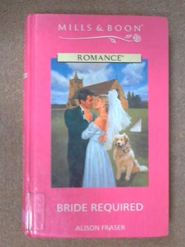 9780263155723: Bride Required (Mills & Boon Romance)