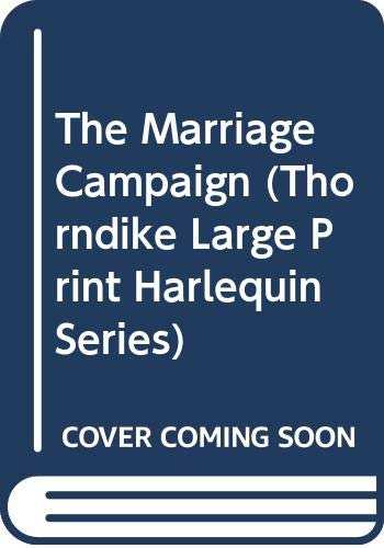 9780263157475: The Marriage Campaign (Mills & Boon Romance)