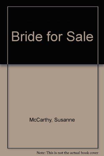 9780263158373: Bride for Sale