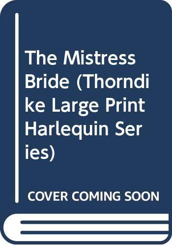 9780263162479: The Mistress Bride